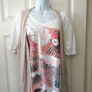 JMS Cactus tee with FREE vest!